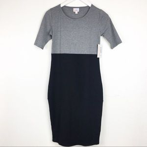 LuLaRoe Julia Size XXS Fitted Pencil Dress
